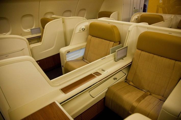 Thai A380 First Class Seats