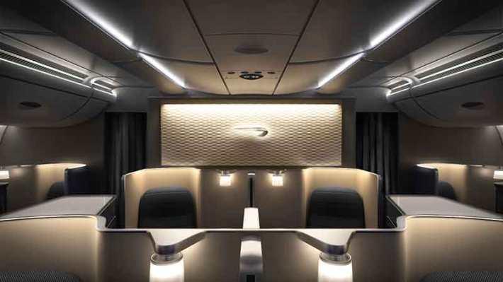 British Airways A380 First Cabin