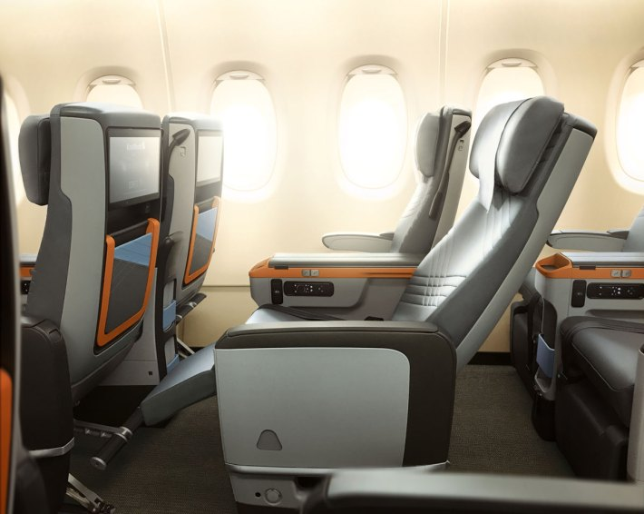 Singapore Airlines A380 Premium Economy Class Seat