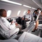 Cessna Citation Ten spacious cabin layout