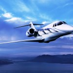 First flight of the Cessna Citation Ten Business Jet