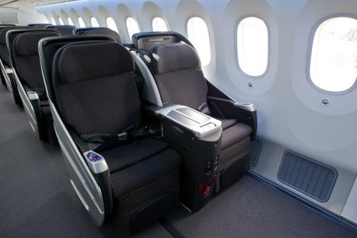 Japan Airlines Boeing 787 Executive Class Cabin Seats