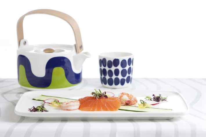 New Marimekko for Finnair tableware in Business Class