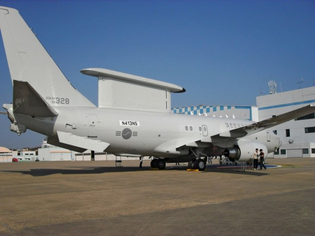 Republic of Korea Air Force take delivery of 3rd Boeing Peace Eye AEW&C Aircraft