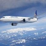 United order 100 737 MAX 9 aircraft