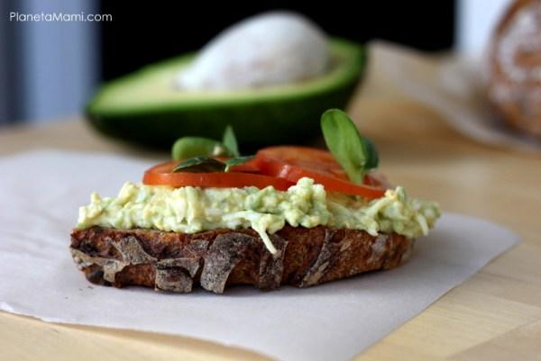 Bruschette ou avocado