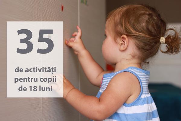 Activitati copii de 18 luni