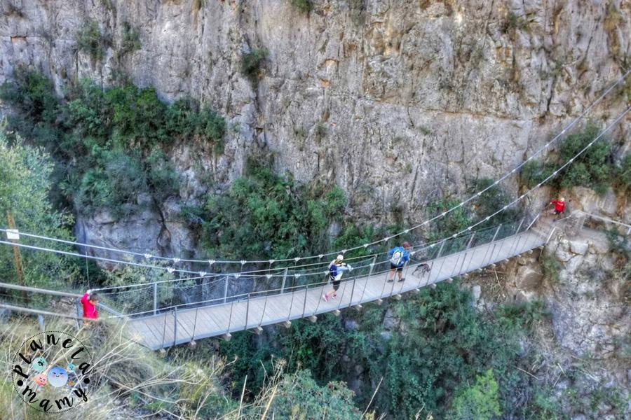 ruta pantaneros, puentes colgantes, chulilla