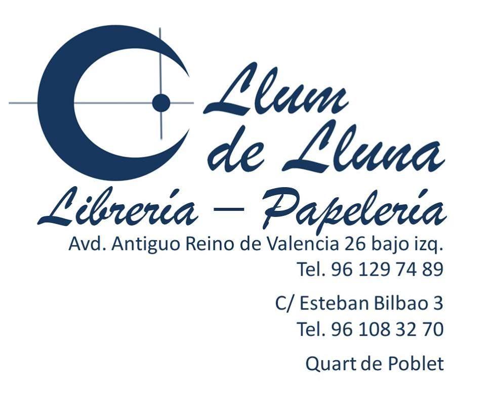 Librería Llum de lluna Quart de Poblet Valencia