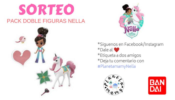 SORTEO FIGURAS NELLA BANDAI