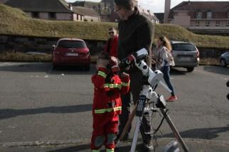 Un pompier astronome !
