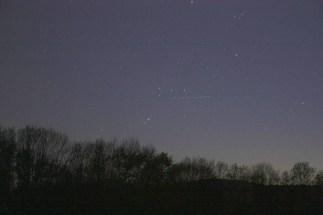 Orion va se coucher