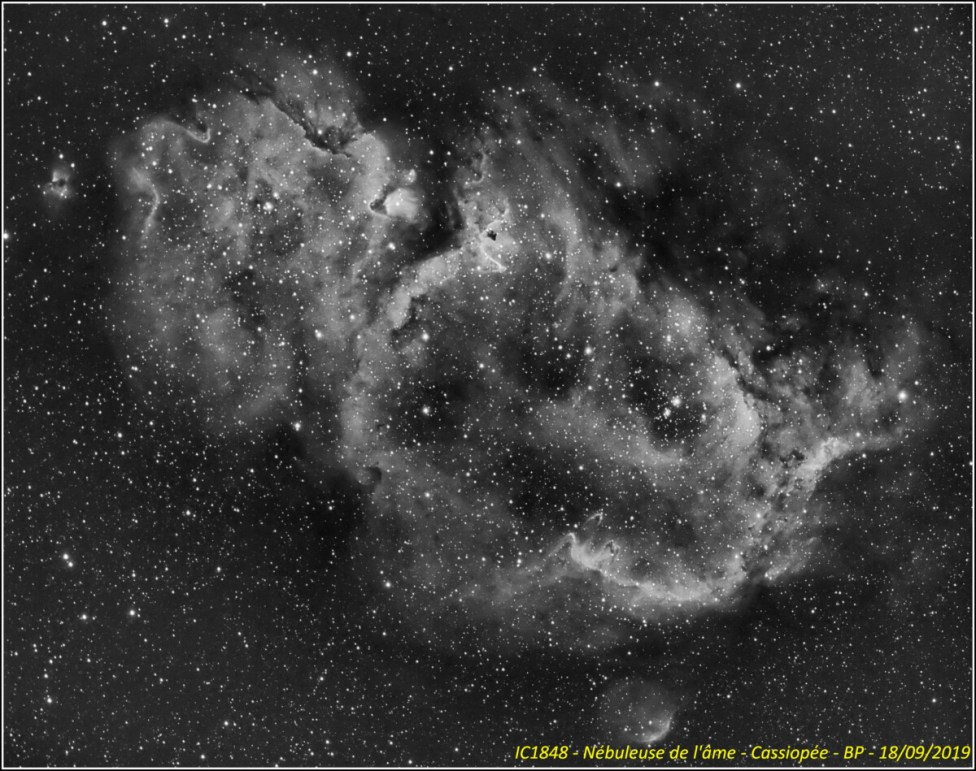 IC1848 - Nébuleuse de l'âme - Cassiopée