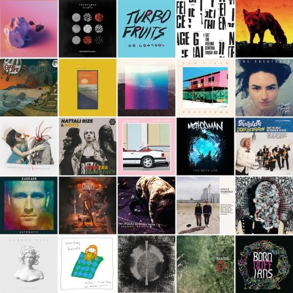 College Album Collage 2015