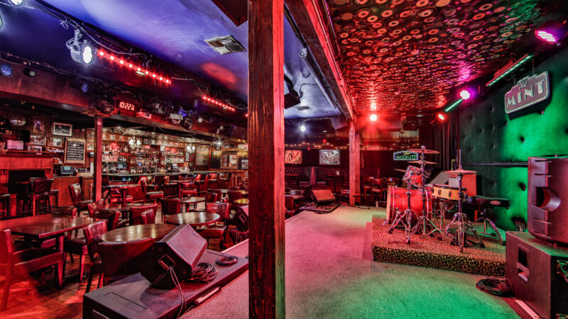 2019 09 19 TheMintLA 0009 1 800x450 1 - Best L.A. Bars With Live Music That Book New Bands