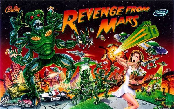 Pinball2000: Revenge From Mars®: Screen Shots and Graphics