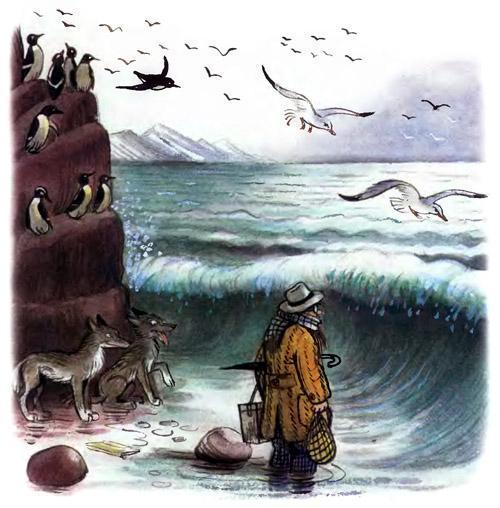 доктор Айболит кит в море шторм