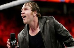 ¡Última hora! Dean Ambrose presente en el backstage de WWE RAW