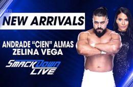 ¡Posible Spoiler¡ WWE podría tener grandes planes para Andrade Cien Almas Andrade Cien Alamas debutará en SmackDown Live la semana que viene