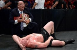 WWE noticias Brock Lesnar sale de Greatest Royal Rumble como campeón Universal