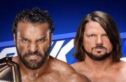 AJ Styles vs Jinder Mahal