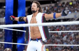 AJ Styles Wrestlemania