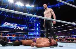 Aiden English hace un turn heel contra Rusev en Smackdown Live