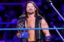 Aj Styles es el campeón mundial de WWE con más días de SmackDown Live