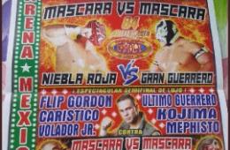 Cartel Aniversario 84 CMLL