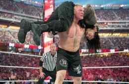 Ausencia de Brock Lesnar en WWE RAW 26 de Enero