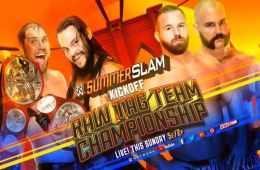 B-Team defenderán los RAW Tag Team Championship contra The Revival en Summerslam