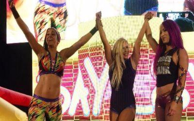 Bayley, Sasha & Dana Brooke ganaron en Hampton