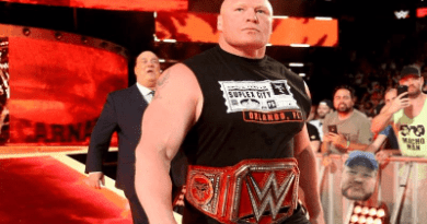 Brock Lesnar en RAW