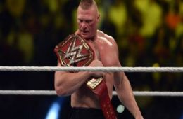 Brock Lesnar podría seguir bajo contrato con WWE después de Wrestlemania 35