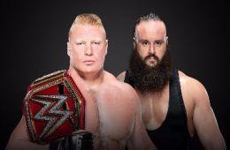 Brock Lesnar vs Braun Strowman por el título Universal en No Mercy