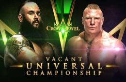 Brock Lesnar vs. Braun Strowman en Crown Jewel