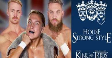 CHIKARA King of Trios Ganadores House Strong Style