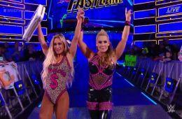 Carmella y Natalya ganan en WWE Fastlane
