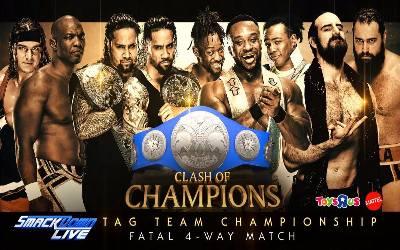 Cartelera Clash of Champions 2017