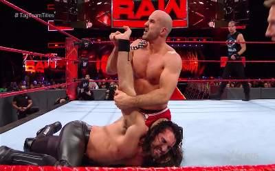 Cesaro & Sheamus retienen los campeonatos de parejas de RAW