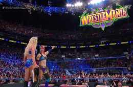 Charlotte Flair vs Asuka Wrestlemania 34
