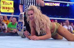 Charlotte termina con la racha de Asuka en Wrestlemania 34