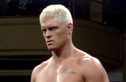 WWE noticias Cody Rhodes Cody Rhodes acerca de poder usar su apellido en las Indies. Descubre las palabras del propio luchador acerca de este tema.
