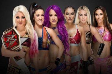 Combate para RAW con las mujeres de la Elimination Chamber