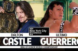 Dalton Castle vs Ultimo Guerrero por el Campeonato Mundial ROH