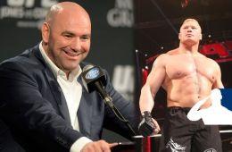 WWE noticias Dana White Brock Lesnar