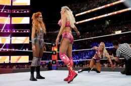 Después de la emisión de Smackdown Live se celebró un combate de revancha de Summerslam