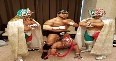 Los luchadores de Michinoku Pro vieron acción tres noches seguidas