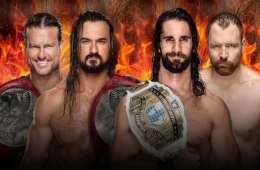 Dolph Ziggler y Drew McIntyre defenderán los campeonatos por parejas de RAW contra Seth Rollins y Dean Ambrose en Hell in a Cell