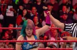 El récord de Asuka sigue creciendo en WWE RAW